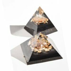 pyramide orgonite ammonite
