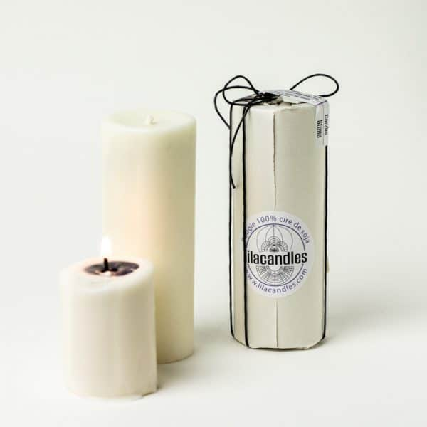 bougie naturelle candle stone