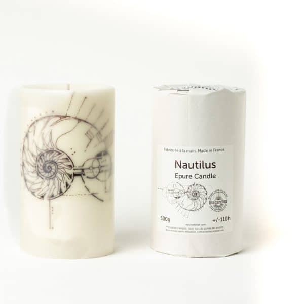 Bougie Epure Candle lilacandles