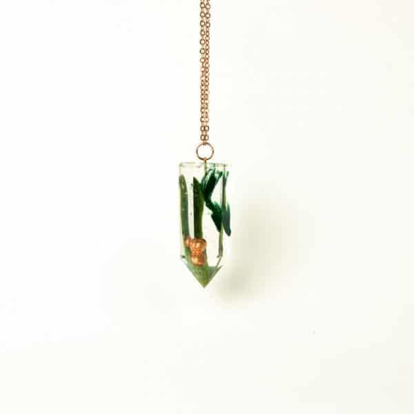 Pendentif Orgonite Jade Néphrite lilacandles