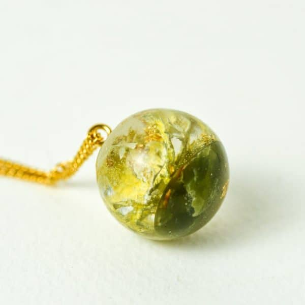 Pendentif Orgonite sphère lilacandles