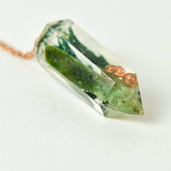 pendentif orgonite jade néphrite
