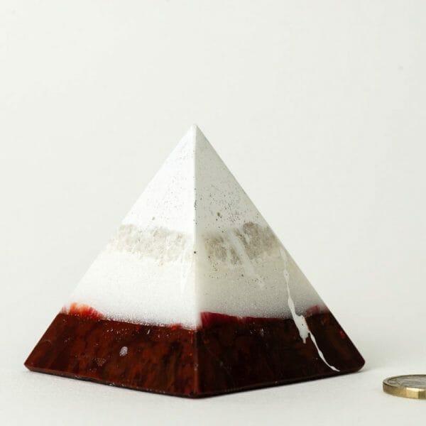 Orgonite pyramide force de vie lilacandles