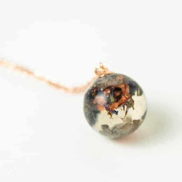 orgonite pendentif sphère