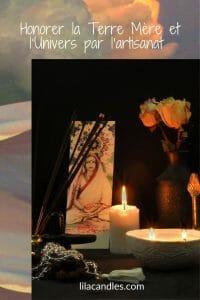 Bougies, orgonites et bijoux en pierres semi-précieuses : honorer la Terre Mère et l'Univers par l'artisanat lilacandles