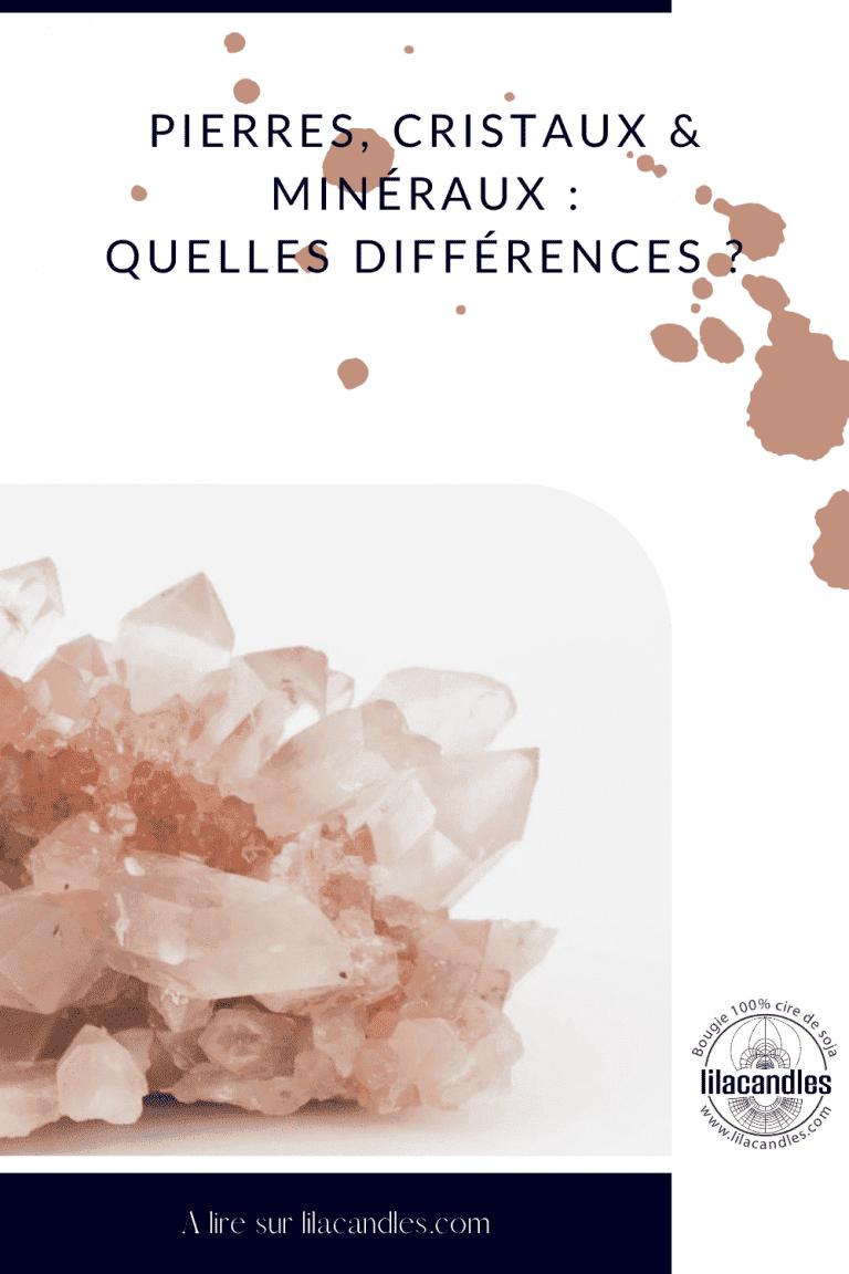 Pierres, Cristaux & Minéraux Quelles Différences blog